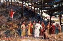 Jesus curando o leproso