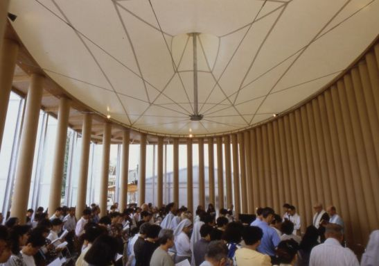 Shigeru Ban Paper Church Kobe 1995