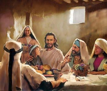 Jesus refeiçao