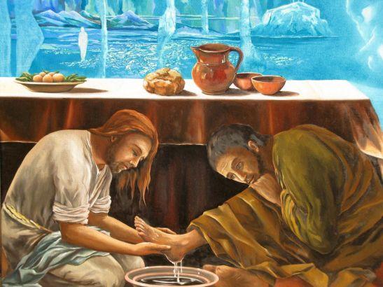 Jesus - Lavanda dei piedi
