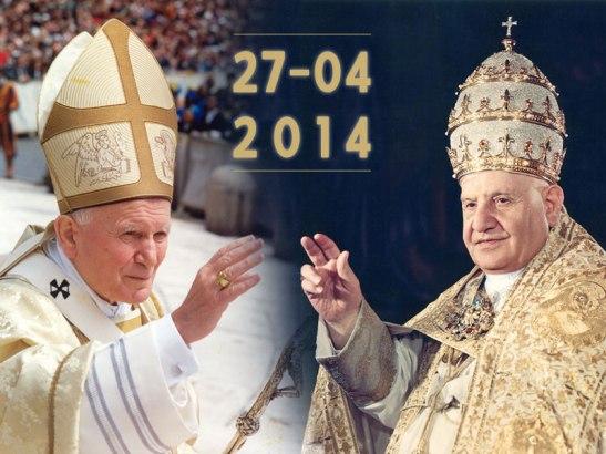 27 aprile canonizzazione