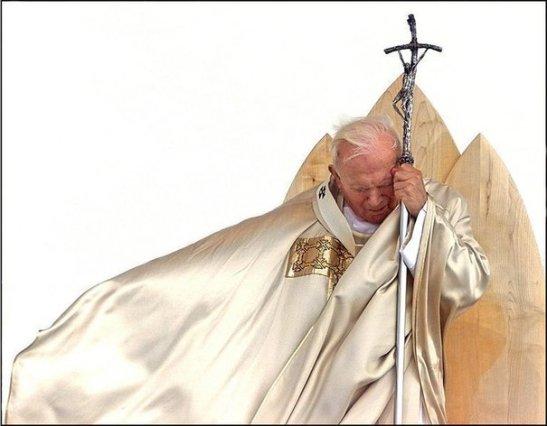 Jean Paul II en Slovenie en 1999