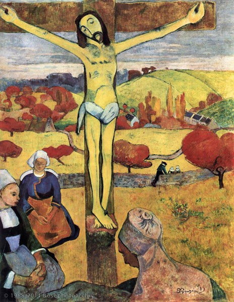 Paul Gauguin, Le Christ jaune, 1889, olio su tela, Albright-Knox Art Gallery, Buffalo