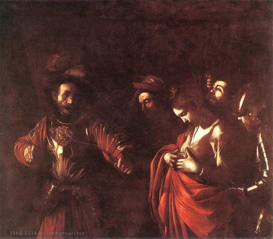 Caravaggio, Martirio di sant'Orsola, 1610, Napoli.