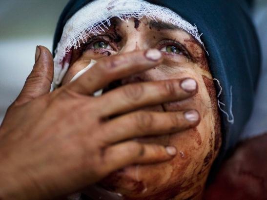 Cristiani crocifissi -Siria