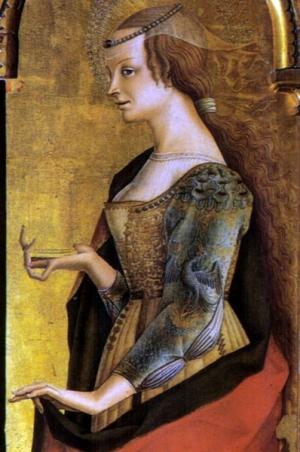 Dentro la bellezza2 - Carlo Crivelli, Maria Maddalena, Polittico di Montefiore 1471