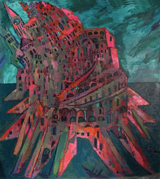 L'albero della vita (7) Maxim-Cantor-AtlantisAtlantide-Torre-di-Babele