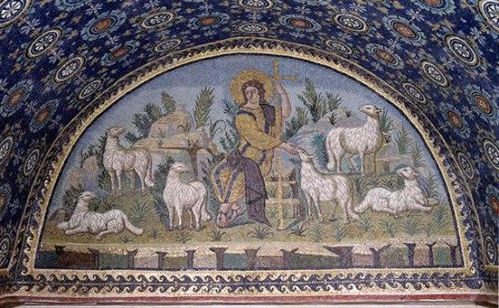 Mausoleo di Galla Placidia, Il Buon Pastore