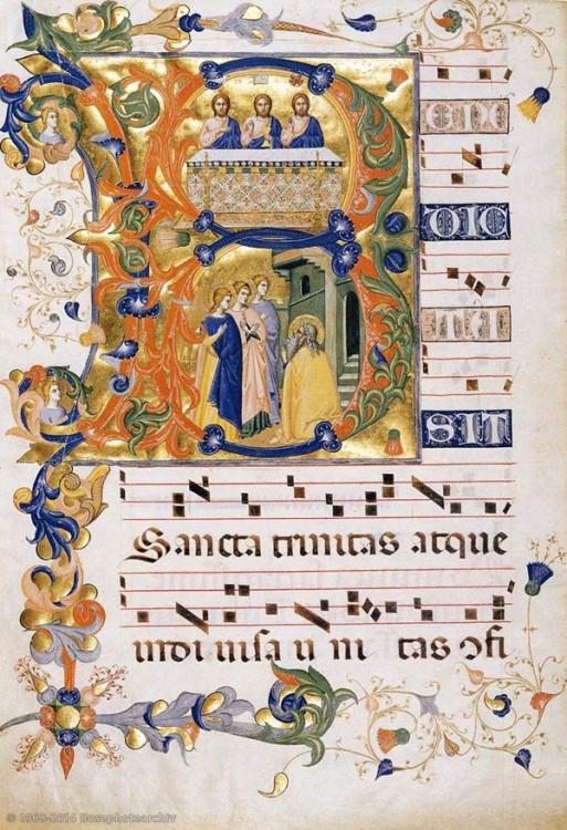 Gerarducci don Silvestro, Gradual 2 for San Michele a Murano (Folio 74)