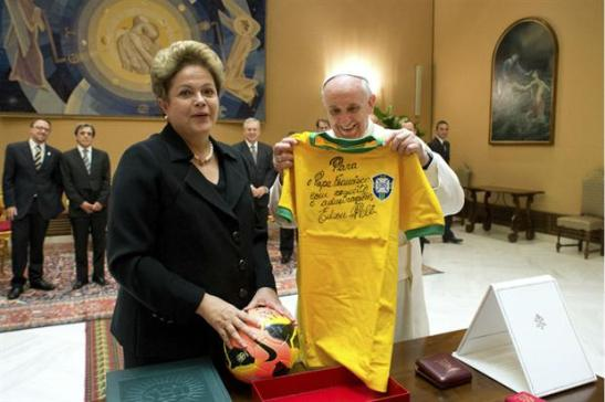 Gli auguri del Papa per il Mondiale2