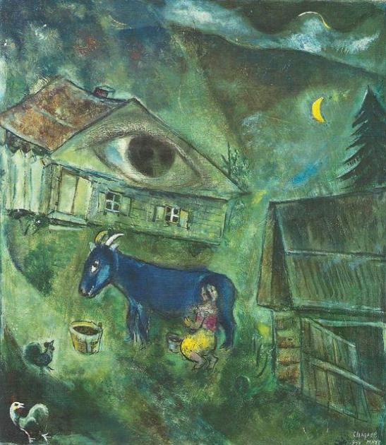 Marc Chagall, L'occhio verde, 1926-1944,
