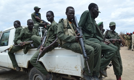 Ceasefire truce signed between Murle tribes and government forces, Gumuruk, Jonglei, South Sudan - 13 May 2014