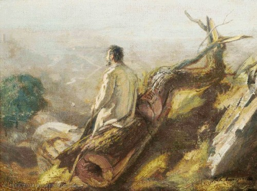 Pietro Annigoni, Il viandante oltre l'infinito