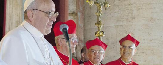 Une, sainte, catholique… et médiatique