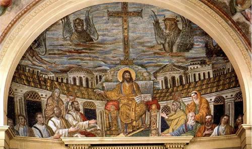 artesacra -  il Mosaico Absidale di S. Pudenziana