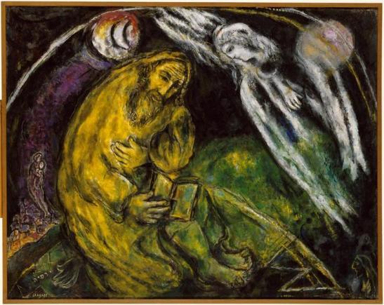 profeta geremia - Marc-Chagall